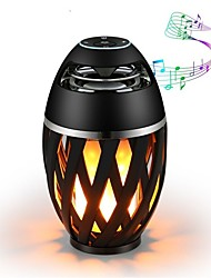 cheap -1pc LED Night Light USB Bluetooth Waterproof Flickering Emulation Fire Speaker with USB Port
