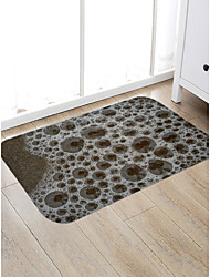cheap -Creative Sports & Outdoors Modern Doormats Area Rugs Bath Mats Flannelette, Superior Quality Rectangle Polka Dot Spots & Checks Rug
