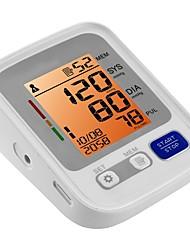 baratos -Parte Superior do Braço Manual Auto-Desligar Apresentação da Temperatura Apresentação da Hora Sons Retroiluminado LCD Entrelaçado -