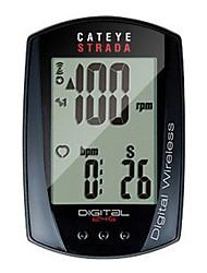 abordables -CatEye® Strada Digital CC-RD410DW Compteur de Vélo Chronomètre Etanche Compteur de vitesse Montagne Extérieur Cyclisme