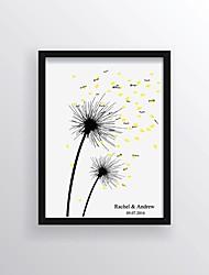 preiswerte -Signatur Rahmen & Platten Sonstiges Blumen / Klassisch / Romantik Mit Muster / Druck