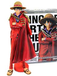 povoljno -Anime Akcijske figure Inspirirana One Piece Monkey D. Luffy PVC 25cm CM Model Igračke Doll igračkama