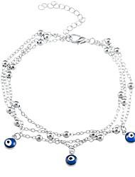 abordables -Femme Charmes pour Bracelets - Mauvais œil Mode Bracelet Or / Argent Pour Quotidien / Sortie