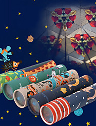 cheap -Kaleidoscope SUV Toys Glow Parent-Child Interaction Exquisite Cylindrical Romance Fantacy Cartoon New Design 1pcs Pieces All Valentine's