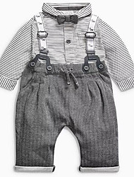 cheap -Baby Boys' Striped Long Sleeves Clothing Set