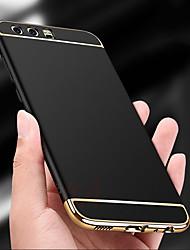 abordables -Coque Pour Huawei P20 lite P20 Antichoc Plaqué Ultrafine Coque Intégrale Couleur Pleine Dur PC pour Huawei P20 lite Huawei P20 P10 Plus