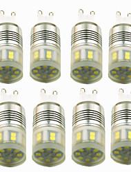 Недорогие -8шт 3W 200lm E14 G9 Двухштырьковые LED лампы T 20 Светодиодные бусины SMD 2835 Декоративная Тёплый белый Холодный белый 220-240V