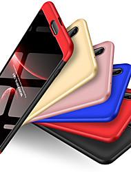 Недорогие -Кейс для Назначение Huawei P20 Защита от удара Чехол Однотонный Твердый ПК для Huawei P20
