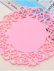 cheap -Contemporary Plastic Round Placemat Table Decorations