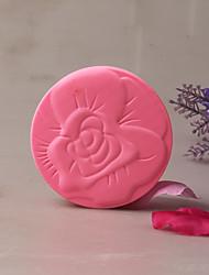 baratos -Ferramentas bakeware Borracha Silicone Férias / Criativo / Aniversário Uso Diário Redonda Moldes de bolos 1pç