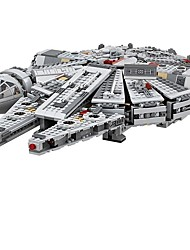 cheap -Millennium Falcon Outer Space Ship Building Blocks 1381pcs Classic Theme Compact Design Gift