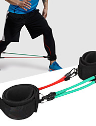 cheap -Fitness Padded Ankle Strap With Latex silk Stretch, Durable Strength Training, Resistance Training, Weightlifting For Exercise & Fitness / Gym / Workout Leg Unisex