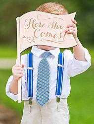 Недорогие -Свадьба деревянный Свадебные украшения Сад / Классика Все сезоны
