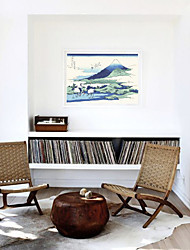 baratos -Estampado Laminado Impressão De Canvas - Famoso Náutico Modern