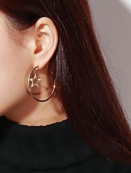 cheap -Women's Star Drop Earrings - Casual / Fashion Gold / Silver Earrings For Daily / Date