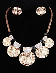 cheap -Women's Jewelry Set - Oversized Include Gold For Club / Bar