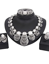 cheap -Women's Jewelry Set - Gold Plated Fashion, Oversized Include Bridal Jewelry Sets Silver For Wedding / Evening Party