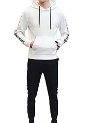 economico -Per uomo Essenziale Activewear Set Alfabetico