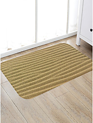 cheap -Creative Sports & Outdoors Casual Doormats Area Rugs Bath Mats Flannelette, Superior Quality Rectangle Lines / Waves Rug