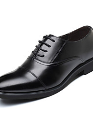 cheap -Men's Formal Shoes Nappa Leather Summer Business / Comfort Oxfords Black