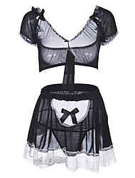 cheap -Women's Suits / Uniforms & Cheongsams / Babydoll & Slips Nightwear - Lace, Color Block