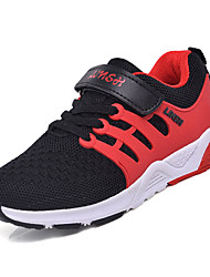 cheap -Boys' Shoes Breathable Mesh Spring Summer Comfort Athletic Shoes Walking Shoes for Kids Athletic Black Orange Red