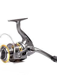 baratos -Molinetes de Pesca Molinetes Rotativos 5.5:1 Relação de Engrenagem+8.0 Rolamentos Orientação da mão Trocável Pesca de Mar