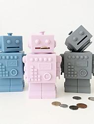 abordables -Tirelires Robot / Dessin Animé Créatif / Cool Enfant / Adolescent Cadeau