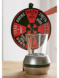 abordables -Articles de bar / Shot Roulett / Accessoires pour Bar & Vin Bar Drinking Roulette For Bar Plastique
