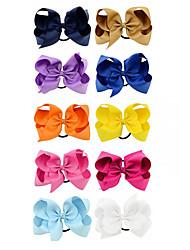 Недорогие -Аксессуары для волос Шёлковая ткань рипсового переплетения парики Аксессуары Девочки 1pcs штук 4-8 дюйм см Для вечеринок / Повседневные