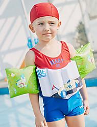 cheap -SABOLAY Boys' One Piece Swimsuit Comfortable, Detachable Cap Polyester / Spandex / Chinlon Sleeveless Beach Wear Swimwear Swimming /