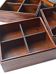 Недорогие -Кухонная организация Ланч-боксы / Хранение продуктов питания / Коробки для хранения Дерево Аксессуар для хранения 1шт