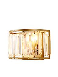 baratos -ZHISHU Cristal / Estilo Mini Tifani / Rústico / Campestre Luminárias de parede Sala de Estar / Quarto / Sala de Jantar Metal Luz de parede