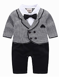 cheap -Baby Boys' Solid Colored Long Sleeves Clothing Set