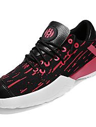 povoljno -Muškarci Cipele PU / Til Ljeto Udobne cipele Atletičarke tenisice Trčanje Obala / Crn / Crno / crvena