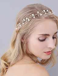 cheap -Imitation Pearl Headbands with Crystals / Rhinestones 1 Piece Wedding / Party / Evening Headpiece