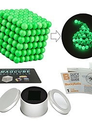 cheap -216 pcs Magnet Toy Magnetic Balls / Magnet Toy / Building Blocks Magnetic / Glow-in-the-dark Stress and Anxiety Relief / Office Desk Toys / Relieves ADD, ADHD, Anxiety, Autism Novelty All Adults' Gift
