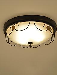 economico -3-Light Montaggio del flusso Luce ambientale - Pretezione per occhi, 110-120V / 220-240V Lampadine non incluse / 5-10㎡ / E26 / E27