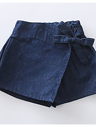 cheap -Kids / Toddler Girls' Solid Colored Skirt