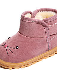 cheap -Girls' Shoes PU Fall & Winter Comfort / Fashion Boots Boots for Fuchsia / Brown / Pink