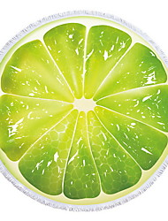 abordables -Calidad superior Toalla de Playa, Pintura / Flores / Botánica Poliéster / Algodón 1 pcs