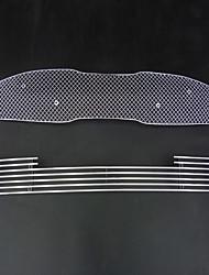 Недорогие -2pcs Автомобиль Отделка передней решетки автомобиля Деловые Тип пасты For Нижняя часть передней решетки / Верхняя часть передней решетки