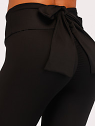 cheap -Women's Daily / Going out Basic / Sporty Legging - Solid Colored High Waist