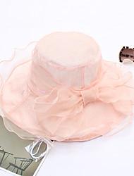 baratos -Mulheres Fofo Chapéu de sol - Com Transparência Sólido