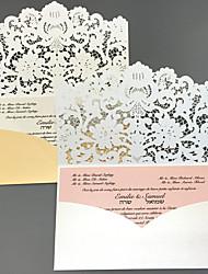 Недорогие -Плоские Свадебные приглашения Приглашения на вечеринку по случаю помолвки / Приглашения на предсвадебные мероприятия / Приглашения для