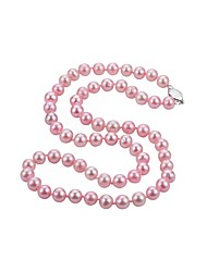 cheap -Women's Choker Necklace  -  Pearl, S925 Sterling Silver, Freshwater Pearl Ball Simple, Natural, Fashion Pink 45 cm Necklace 1pc For Party / Evening, Daily