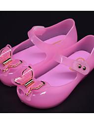 baratos -Para Meninas Sapatos PVC Verão Conforto Sandálias para Dourado / Preto / Fúcsia