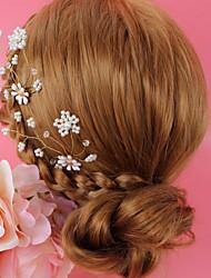 Недорогие -Сплав Форма для выпечки / Аксессуары для волос с Кристаллы / Искусственный жемчуг 1 шт. Свадьба / Особые случаи Заставка