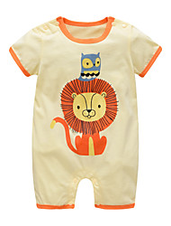 cheap -Baby Boys' Lion Print Short sleeves Romper