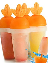 baratos -Ferramentas bakeware Plástico Adorável / Criativo Picolé Outros Acessórios 1pç
